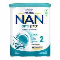 Llet de continuació NESTLÉ Nan 2 Optipro, llauna 800 g