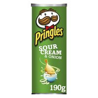 Pringles Patates cream onion 190g
