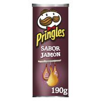 Pringles Patatas jamón 190g