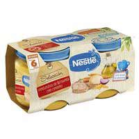 Nestlé Verduritas con cordero sin gluten 6meses 2x200g