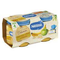 Nestlé Potet Poma golden i plàtan sense gluten 4 mesos 2x200g
