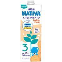 Nestlé Llet Junior creixement galeta Maria 12 mesos 1l