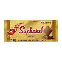 Turrón de chocolate crujiente SUCHARD, tableta 260 g