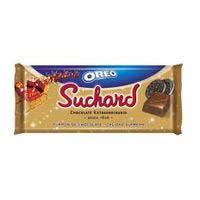 Turrón de chocolate con oreo SUCHARD, tableta 260 g