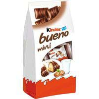 Barrita de chocolate mini T20 KINDER Bueno, bolsa 108 g