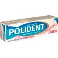 Crema sin sabor POLIDENT, caja 40 g