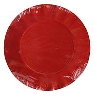 Plat Ct 29 cm vermell Gabbiano, paquet 6 uds.