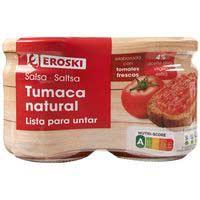Eroski Tumaca para untar con aceite de oliva virgen extra 2x185g