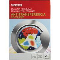 Eroski Toallitas antitransferencia de colores 20u