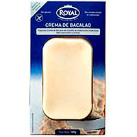 Crema de bacalao ROYAL, paquete 100g