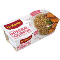 Brillante Vasitos Arroz integral con Quinoa 2x125g