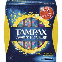 Tampax pearl Tampó compak regular 18u