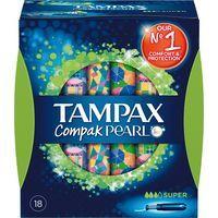 Tampax pearl Tampó compak super 18u