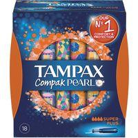 Tampax Tampón compak pearl super plus 18u