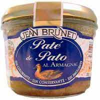 Paté de pato JEAN BRUNET, tarro 180 g