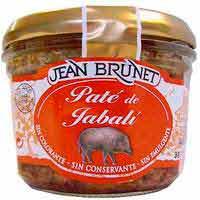 Jean Brunet Paté de porc senglar 180 g