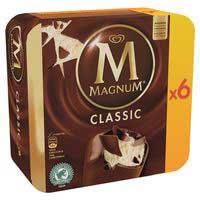 Bombó classic MAGNUM, 6 uts., caixa 474 g