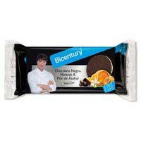Bicentury Tortitas arròs xocolata negra taronja i ázahar 132G