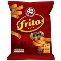 Fritos BBQ Aperitivo de maíz frito sin gluten  156g