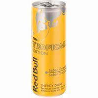 Red Bull Bebida energética sabor Tropical lata 25cl