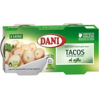 Dani Tacos al ajillo 2x85g