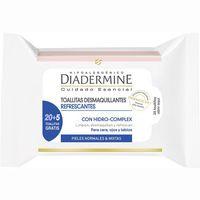 Diadermine Tovalloletes desmaquilladores pell mixta 20u