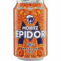 Moritz Epidor Cervesa llauna 33cl