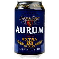 Aurum Cerveza extra lata 33cl