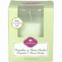 Cristalina Ambientador espelma orquídies i flors verdes 1u