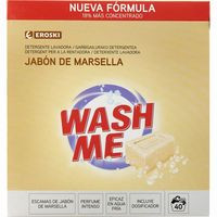 Eroski Detergente en polvo marsella 40 dosis