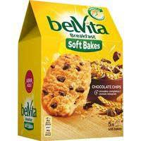 Galeta tendra 5 cereals i xocolata FONTANEDA BELVITA,250g