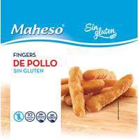 Maheso Fingers de pollastre s/gluten 300g