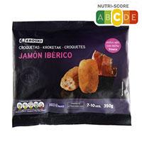Eroski Croquetas jamón ibérico 350g