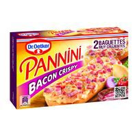 Dr. Oetker Pannini bacon crispy 250g