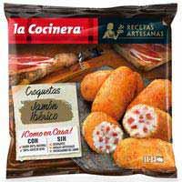La Cocinera Croquetas artesanas jamón iberico 400g