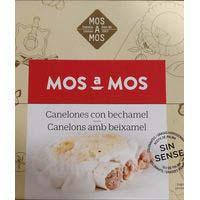 Canelons de carn amb beixamel MOS A MOS, safata 675 g
