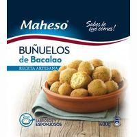 Maheso Bunyols Bacalla 400g