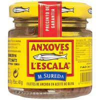 L'Escala Filets d'anxoves 85g