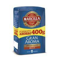 Marcilla Cafè mòlt descafeïnat 400g