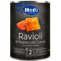 Hero Ravioli al huevo con carne 430g