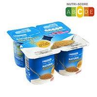 Eroski Iogurt ensucrat canya de sucre 4x125g