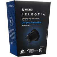 Eroski Seleqtia Cafè Colòmbia 10 càpsules