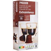 Eroski Seleqtia Café extra intenso 10u