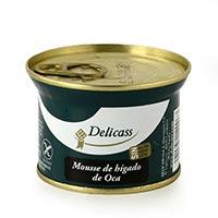 Delicass Mousse de foie d'oca 130g