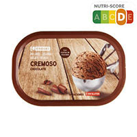 Eroski Tarrina chocolate cremoso con trocitos chocolate 900ml