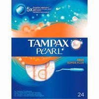 Tampax Pearl Tampón superplus 24u