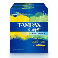 Tampax Tampón multipack 16u