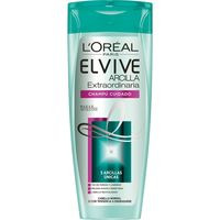 Elvive Champú arcilla extraordinaria cabello normal 370ml