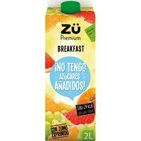 Zü Premium exprimido Breakfast sin azúcar 2l