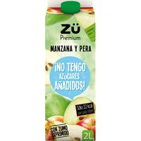Zu Premium Espremut poma pera sense sucre 2l